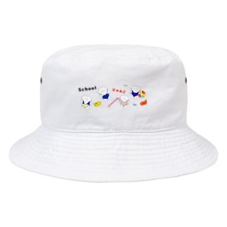 スクールにゃんこ🐾 Bucket Hat