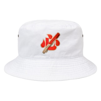 HEART WITH RISING SUN(片面プリント) Bucket Hat