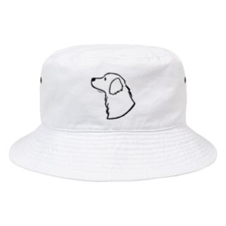 ゴールデン・レトリーバー〈線〉 Bucket Hat