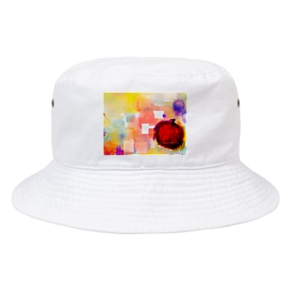 アップル Bucket Hat