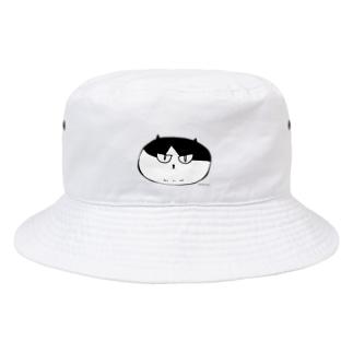 ふしぎ猫 コムちん まんじゅうバージョン Bucket Hat