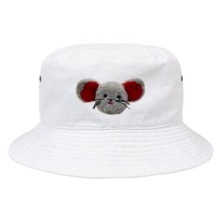 はっちゃんのお顔 Bucket Hat