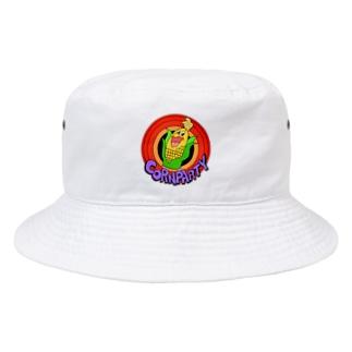 Angel】 🌽CORN PARTY🌽 Bucket Hat