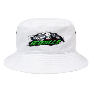 東海シーガルズ Over The Top 公式 Bucket Hat