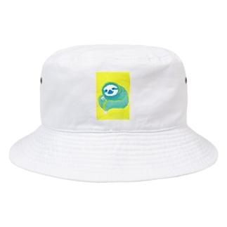 ナマケモノ3(アクリル画) Bucket Hat