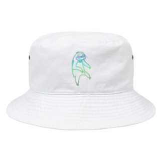ぶらーんとナマケモノれいんぼー Bucket Hat