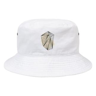 ぐるぐる巻きに内包。 Bucket Hat
