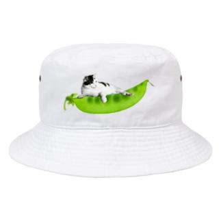 サヤエンドウ Bucket Hat
