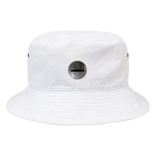 コイン投入口 Bucket Hat