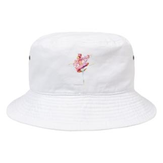こんぺいとうの精🍬ロゴ付 Bucket Hat