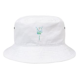 雪の精❄️ ロゴ付 Bucket Hat