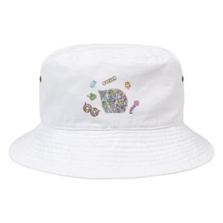 小腹がへった! Bucket Hat