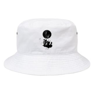 浮(ふ) Bucket Hat