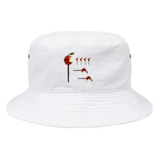 赤りんご族 Bucket Hat
