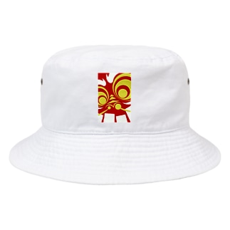 竜驤獅子視 Bucket Hat
