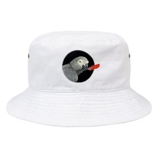 ヨウム Bucket Hat