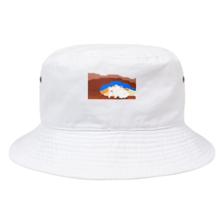 しろくま Bucket Hat