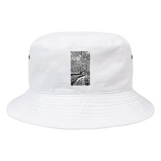 桜の街路樹 Bucket Hat