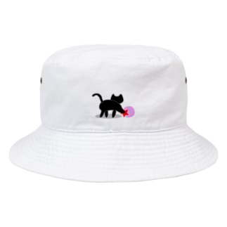 黒猫のいる部屋 Bucket Hat