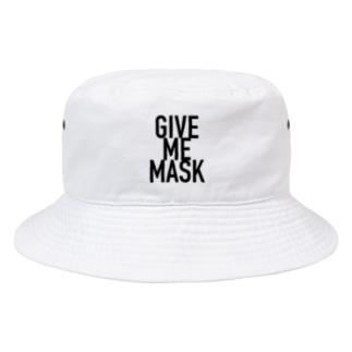 GIVE ME MASK Bucket Hat