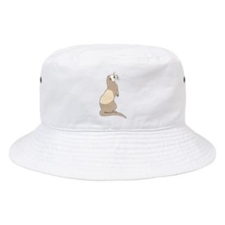 フェレット バタースコッチ Bucket Hat