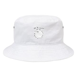 左手で描いたポメ Bucket Hat