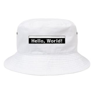 ハローワールド Bucket Hat