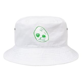 2歳半の絵 くるりちゃん(仮) Bucket Hat