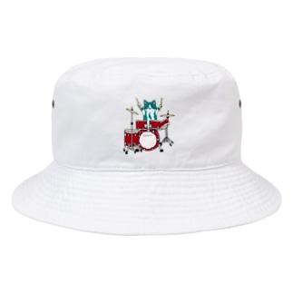 ドラム得意なんだって Bucket Hat
