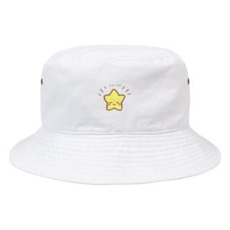 ようなぴしょっぴんぐまーとのにこにこ星さんからのふぁいぴ!エール Bucket Hat