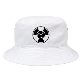 放射線に三つ巴 B Bucket Hat