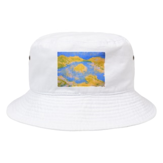 Seaside Village Bucket Hat