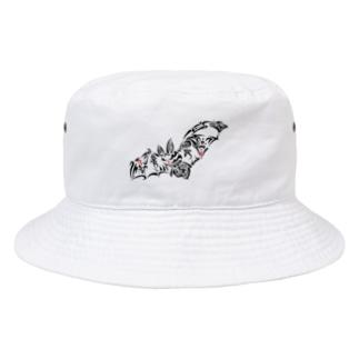 こうもり Bucket Hat