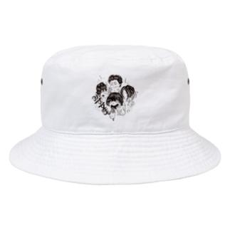【期間限定】イノウエノリコ氏デザイン「みずすまし」グッズ Bucket Hat