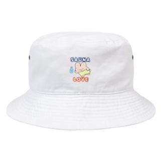 サウナ♡ラブ Bucket Hat