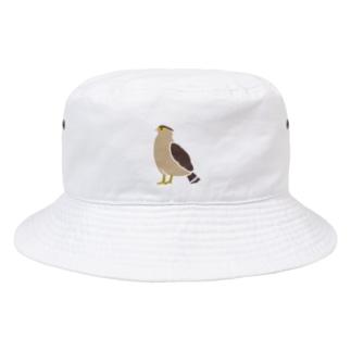 しまのなかまカンムリワシ(飛んでない)文字なし Bucket Hat