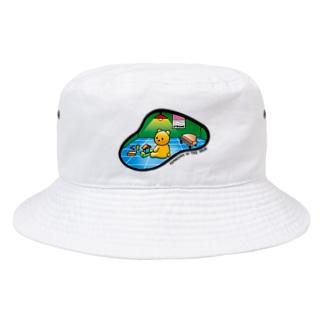 KUMACHAN IN THE HEAD Bucket Hat