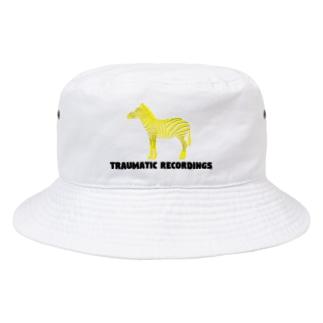 TRAUMATIC RECORDINGS HAT Bucket Hat