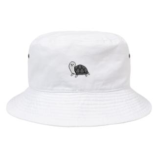 かめ Bucket Hat