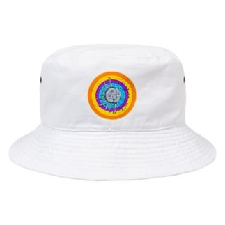 太陽と月(ヒッピーver) Bucket Hat