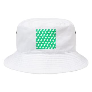 まな板柄 Bucket Hat