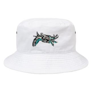 さわがに氏 Bucket Hat