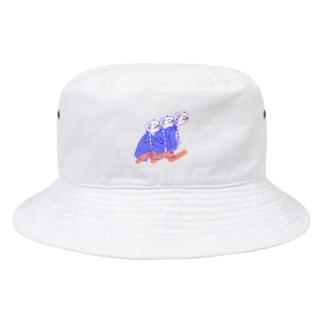 ひっつきっこ Bucket Hat