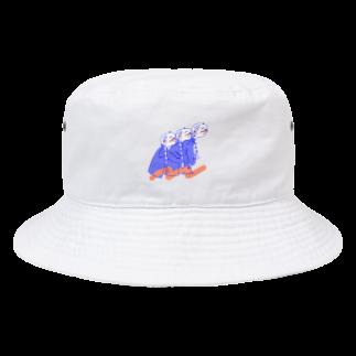 kameのひっつきっこ Bucket Hat