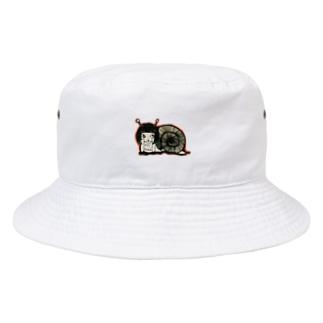 家つむり Bucket Hat