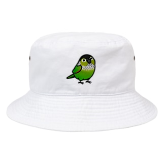 Cody the LovebirdのChubby Bird イワウロコインコ Bucket Hat