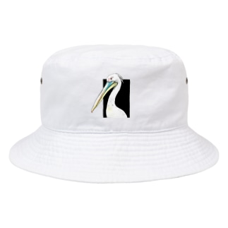 モモイロペリカン Bucket Hat