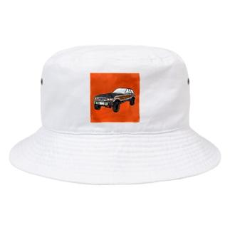 koko design 外車 Bucket Hat
