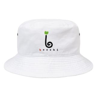 ロゴ(ライトグリーンver.) Bucket Hat