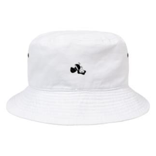 ストレンジクンバケットハットホワイト Bucket Hat